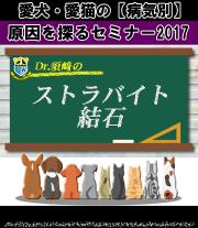 愛犬・愛猫のストラバイト結石の原因を探るセミナー2017