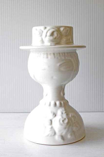 大サイズ!スウェーデン/HJO社/オブジェ&花瓶/おしゃれなご婦人/SOLD OUT
