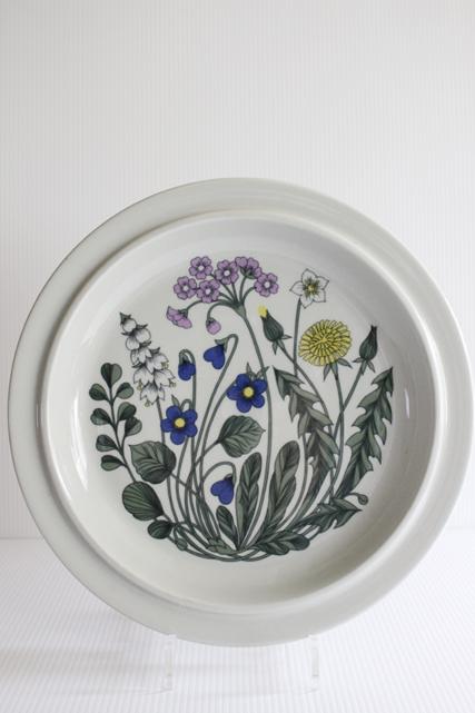 北欧ヴィンテージ/ARABIA/Flora(フローラ)/大皿(33cm)