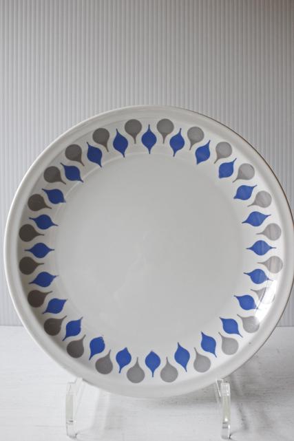 北欧ヴィンテージ/Lyngby Porcelain(リュンビュー・ポーセリン)/デザートプレート