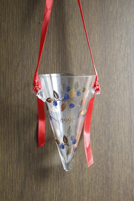 北欧ヴィンテージ/B&G/ガラスのオーナメント/1998年/SOLD OUT