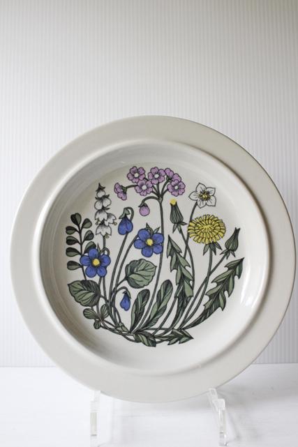 北欧ヴィンテージ/ARABIA/Flora/ディナープレート