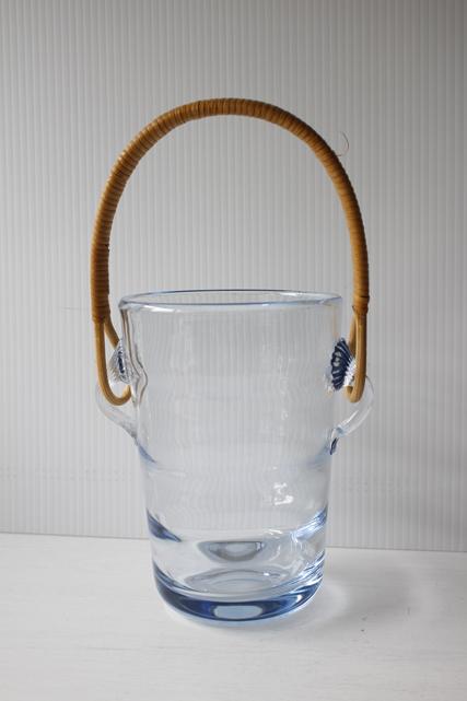 北欧ヴィンテージ/Holmegaard(ホルムゴー)/ガラスのアイスペール/SOLDOUT