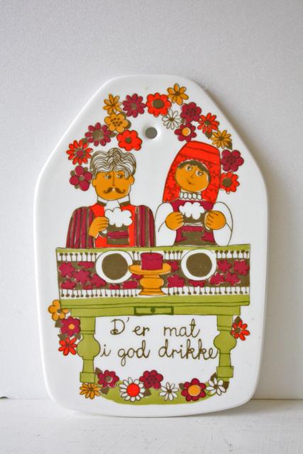 北欧ヴィンテージ/Figgjo(フィッギオ)turi‐design/Folklore/チーズボード
