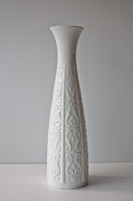 ドイツ製/ヴィンテージ花瓶/ホワイトカラー/SOLD OUT