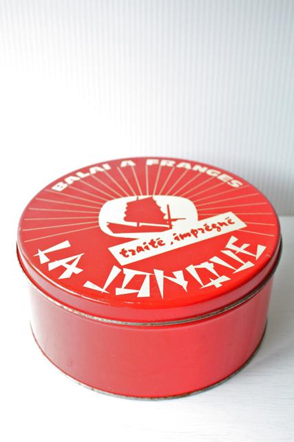 北欧ヴィンテージ/ヴィンテージ缶/レッドカラー/SOLD OUT