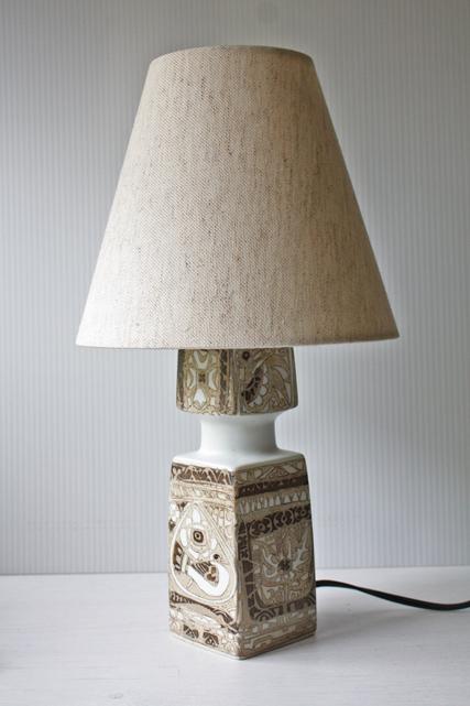 北欧照明/Royal Copenhagen/バッカ/ヴィンテージテーブルランプ/SOLD OUT
