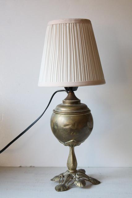 北欧ヴィンテージ/テーブルランプ/真鍮