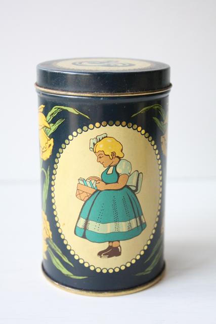北欧ヴィンテージ/Irma(イヤマ)/ヴィンテージクッキー缶
