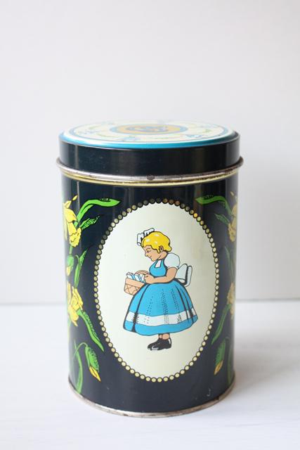 北欧ヴィンテージ/Irma(イヤマ)/ヴィンテージクッキー缶/No.2
