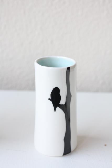 北欧デザイン/Anna Carin Dahl /花瓶(小)/フクロウ