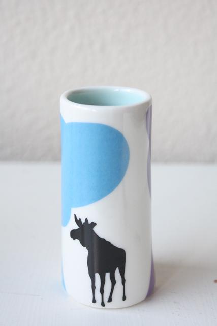 北欧デザイン/Anna Carin Dahl /花瓶(小)/ヘラジカ