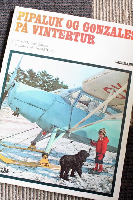 北欧ヴィンテージ本/Pipaluk og Gonzales paa Vintertur/1972年