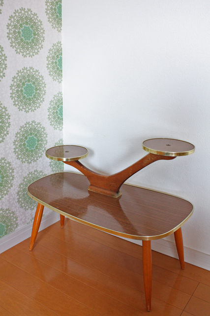 【送料無料】ドイツヴィンテージ家具/ミッドセンチュリー/プランターテーブル