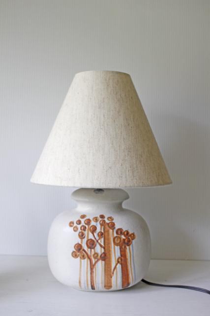北欧照明/Soholm(スーホルム)/テーブルランプ/ブラウン×ミルクホワイト