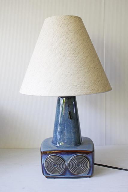 北欧照明/Soholm(スーホルム)/テーブルランプ/ブルー×ブラウン