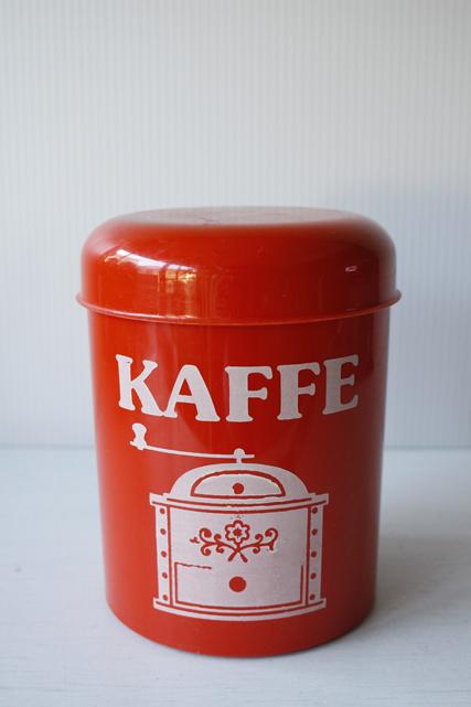 北欧ヴィンテージ/プラスティックキャニスター/Kaffe/SOLD OUT