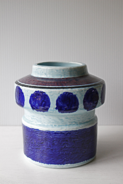 北欧ヴィンテージ/Rorstrand(ロールストランド)/Lavendel/花瓶
