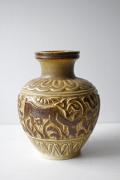 北欧ヴィンテージ/Michael Andersen & Son社/花瓶/シカと植物/SOLD OUT