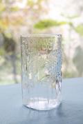北欧ヴィンテージ/Nuutajarvi Flora/フローラ/グラス/クリアカラー