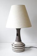 北欧照明/デンマーク製/ヴィンテージテーブルランプ/ストライプ
