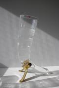 レア!北欧ヴィンテージ/Ittala/Harald Horn/真鍮ホルダー付ビアグラス