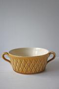 北欧ヴィンテージ/Jens.H.Quistgaard(イェンス・クイストゴー)Leaf/持ち手つきスープカップ/SOLD OUT