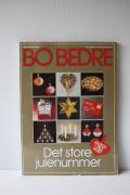 """北欧ヴィンテージ/""""Bo Bedre""""のクリスマスのアイデア本/1986年"""
