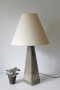 北欧照明/デンマーク製/ヴィンテージテーブルランプ/グレーモスグリーン