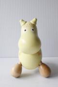 北欧ヴィンテージ/木製(白樺)オブジェ/Moomin/フローレンス/SOLD OUT