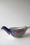 北欧ヴィンテージ/Aluminia/Royal Copenhagen/テネラ/鳥型花瓶