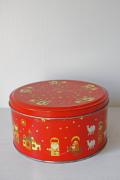 【クリスマス】ヴィンテージ缶/聖者の行進/クッキー缶