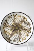 北欧ヴィンテージ/Royal Copenhagen(ロイヤルコペンハーゲン)/バッカ/丸皿(Φ17cm)