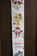 【クリスマス】北欧ヴィンテージ/壁掛け/ニッセとクリスマスモチーフ