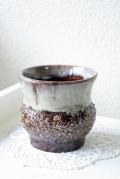 ドイツ製/ヴィンテージ花瓶/ブラウン/SOLD OUT