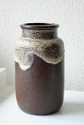 ドイツ製/ヴィンテージ花瓶/ブラウン