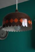 北欧照明/Fog&Morup/ヴィンテージペンダントランプ/レトロブラウン(小)