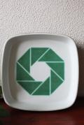 Royal Copenhagen/ニルストーソンデザイン企業ロゴ(ユスク銀行)/角皿