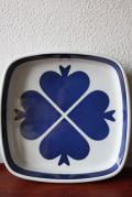 Royal Copenhagen/企業ロゴ(Den Frie Koebmand)/角皿