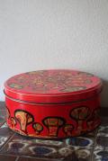 北欧ヴィンテージ缶/キノコ