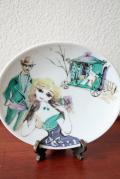 ドイツ製/ローゼンタール/ハンドペイントの絵皿/SOLD OUT