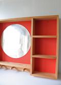 北欧ヴィンテージ/木製コレクションケース/ウォールシェルフ/SOLD OUT