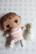 北欧デザイン/Be my baby/Lena nicolajsen/BABY GREY