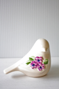 北欧ヴィンテージ/Rosa Ljung/オブジェ/小鳥とお花
