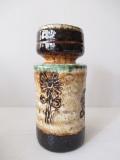 北欧ヴィンテージ/花瓶/フラワー&グラデーションカラー