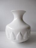 ドイツヴィンテージ/花瓶/ホワイトリーフ