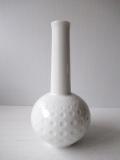 ドイツヴィンテージ/花瓶/ホワイトドット
