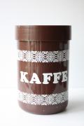 北欧ヴィンテージ/Erik Kold(エリック・コルド)プラスティックキャニスター/ブラウン/KAFEE