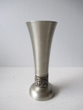 北欧ヴィンテージ/ノルウェー製/ピューター/キャンドルホルダー×花瓶