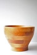 スウェーデン 木製ボウル 寄木作り